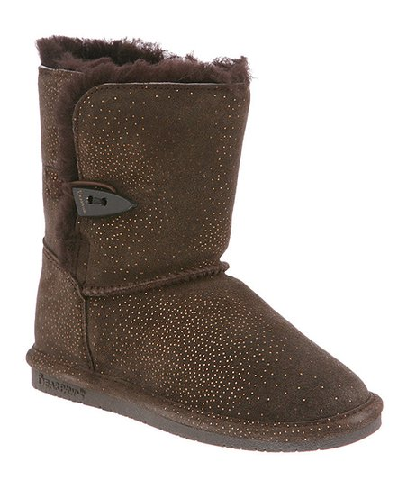 Chocolate Brownie Diva Youth Suede Boot - Kids