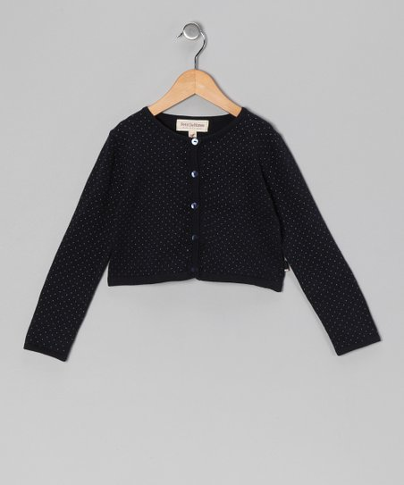 French Navy Suri Cardigan - Toddler &amp; Girls