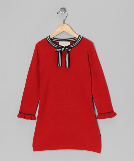 Red Katie Dress - Toddler & Girls