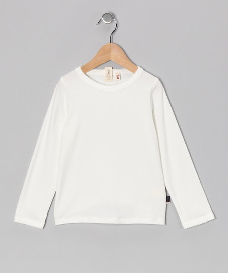 Off-White Kitty Top - Toddler & Girls