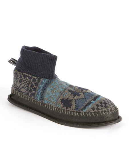 Blue Cullen Retro Nordic Ankle Slipper - Men