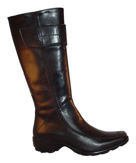 Black Natalia Boot
