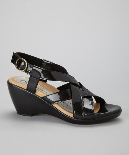 Black Pearl Dawn Leather Sandal