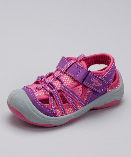 Purple & Pink Motion Sport Sandal
