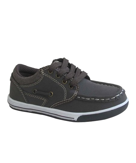 Dark Brown Boat Tennis Shoe
