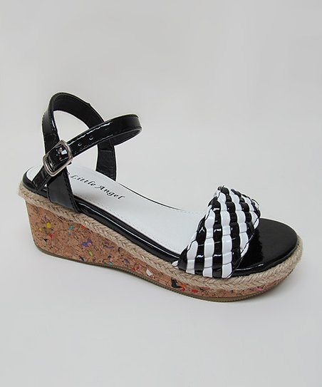 Black Cici Wedge Sandal