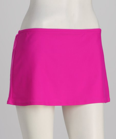 Sunsets Fuchsia Swim Skirt