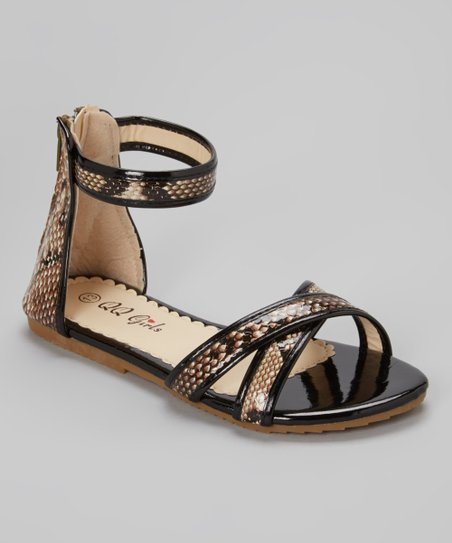 Black Julia Gladiator Sandal