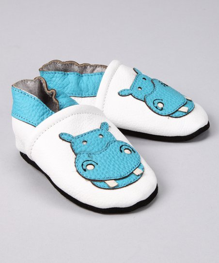 Blue Hippo Booties