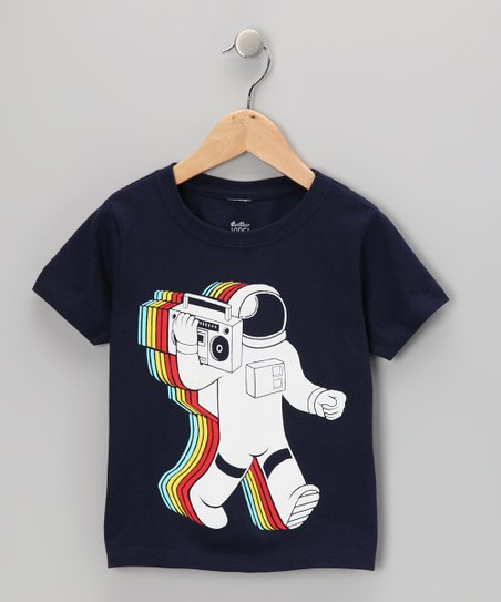 Navy Funkalicious Tee - Toddler