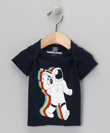 Navy Funkalicious Tee - Infant