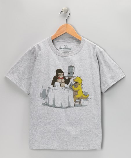 Heather Gray Crunchy Meal Tee - Boys