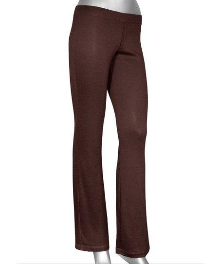 Chocolate Lazy Lounge Pants - Plus