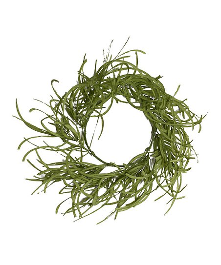 Green Twisted Grass Wreath
