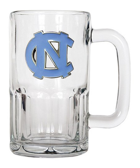 North Carolina Tar Heels 20-Oz. Glass Mug