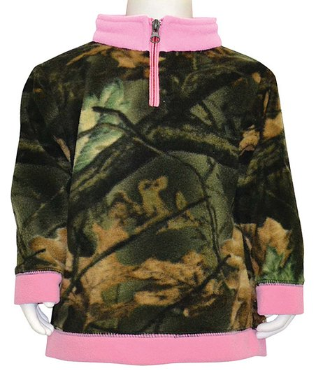 Pink Camo Fleece Jacket - Infant & Toddler