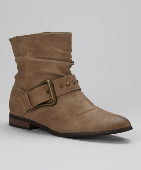 Camel Ankle Boot