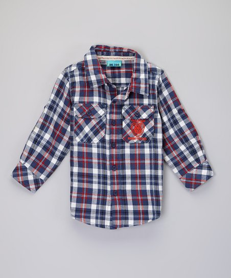 Blue Carter Shirt - Infant, Toddler & Boys