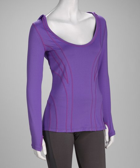 Purple Daze Hypnotic Hoodie - Women & Plus