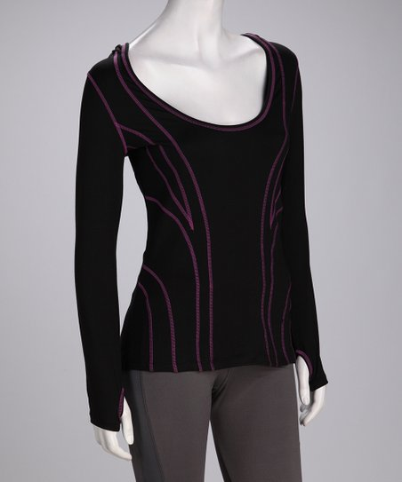 Black Hypnotic Hoodie - Women &amp; Plus