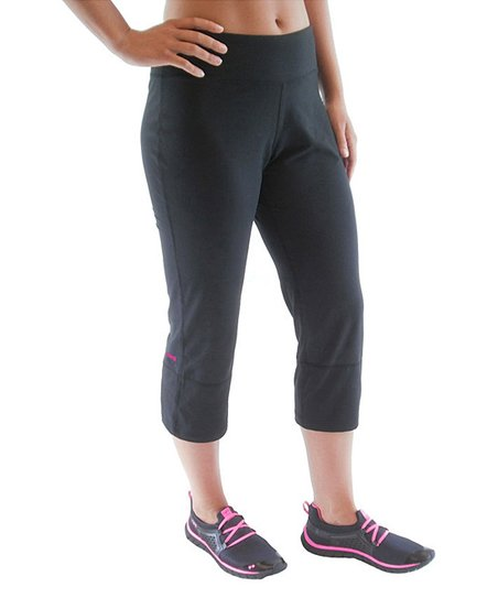 Black Flare-Back Capri Pants - Women & Plus