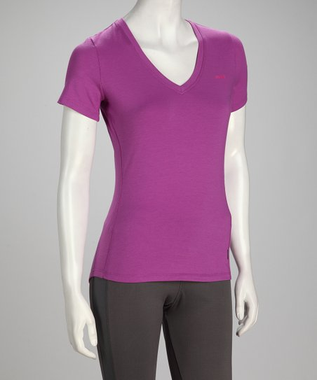 Sugar Plum Fit Short-Sleeve Tee - Women &amp; Plus