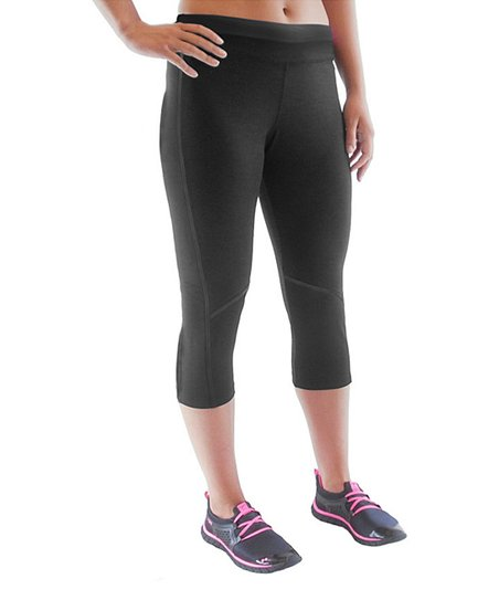 Black Advantage Capri Pants - Women & Plus