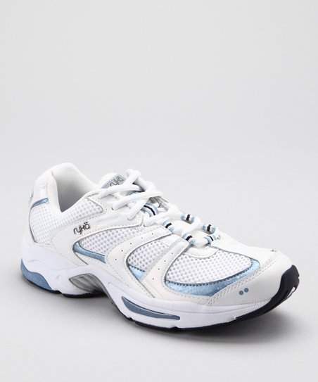 White & Blue Endure XT 2 LO Walking Shoe