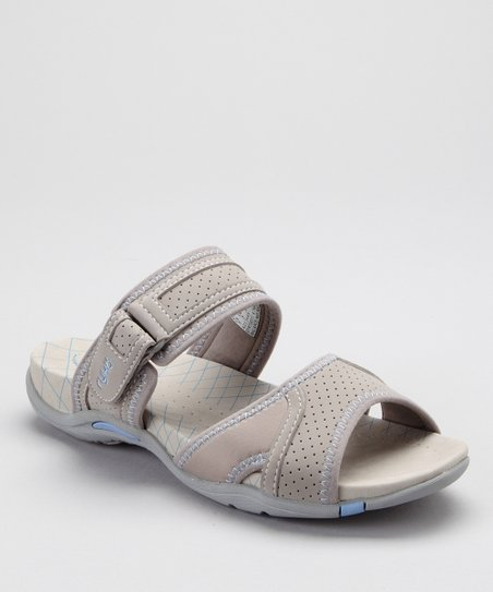 Gray Essence Slide - Women