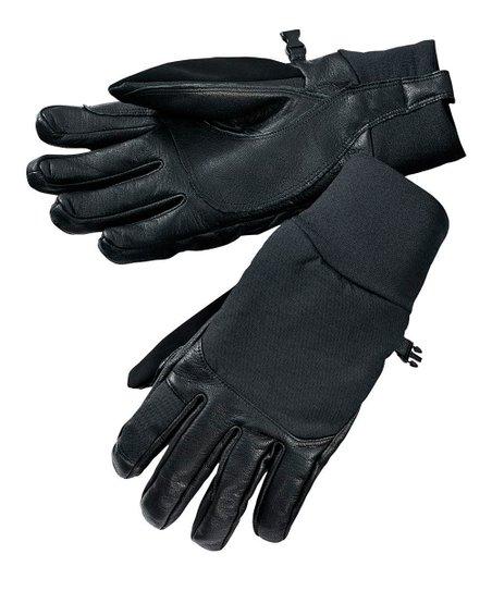 Black Fresh Tracks Wool-Blend Gloves - Women & Men
