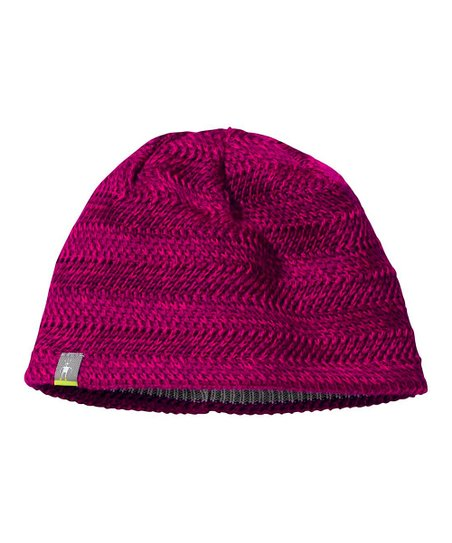 Dark Berry Willow Lake Wool-Blend Beanie - Women