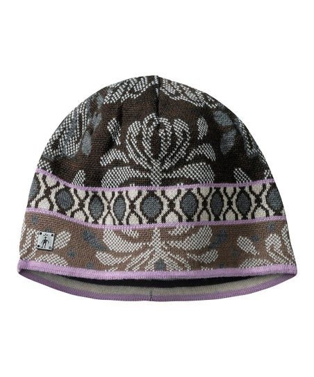 Chocolate Reflections Wool-Blend Reversible Beanie - Women