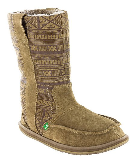 Tan Wanderer Primo Suede Boot - Women