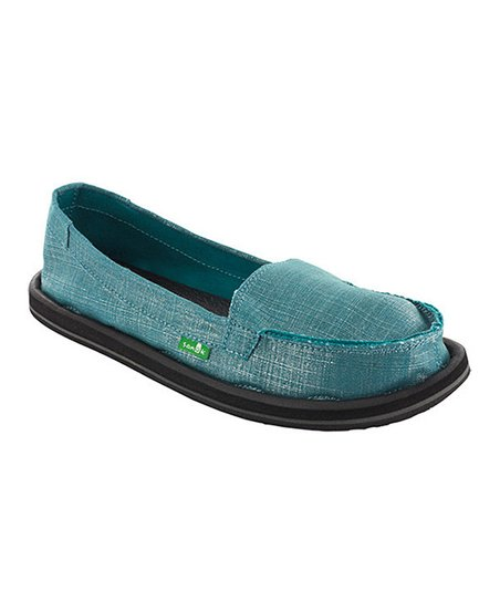 Teal Ohm My Slip-On Shoe - Women