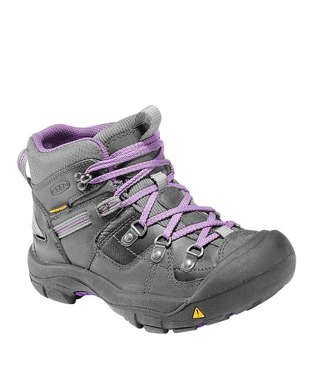 Dark Shadow & Purple Clayton All-Terrain Shoe - Toddler & Kids