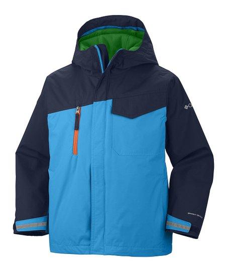 Compass Blue Ice Slope Parka Jacket - Toddler