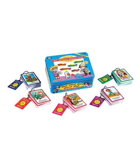 Inference Question Word Cards Set