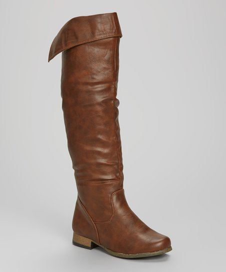 Brown Cuff Boot