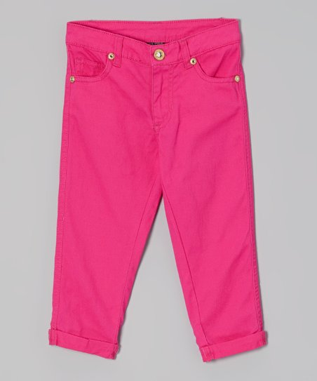 Hot Pink Pants - Toddler & Girls