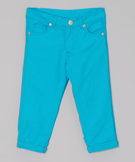 Turquoise Pants - Toddler & Girls