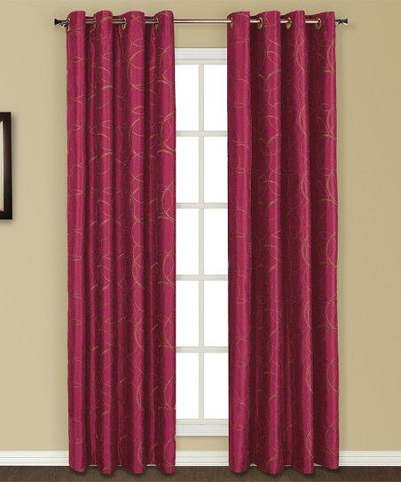 5 piece curtain sets