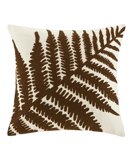 Pine Creek Leaf Square Pillow