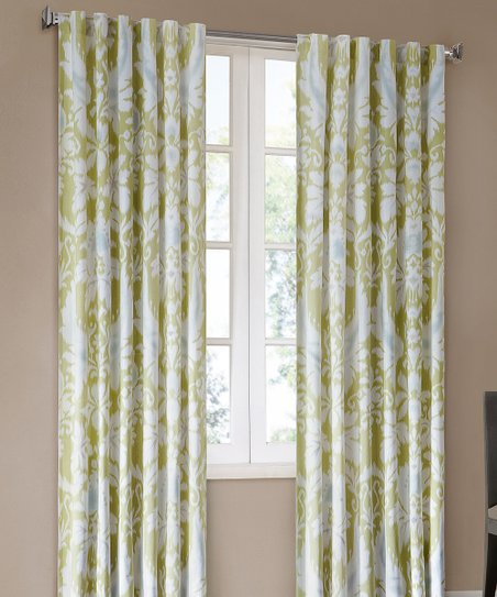Pistachio Positano Curtain Panel