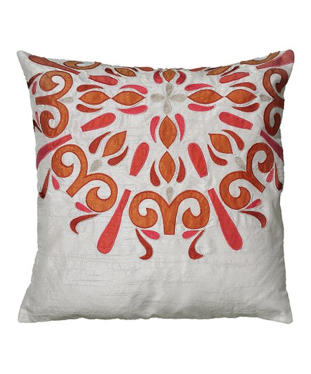 Light Gray Throw Pillow