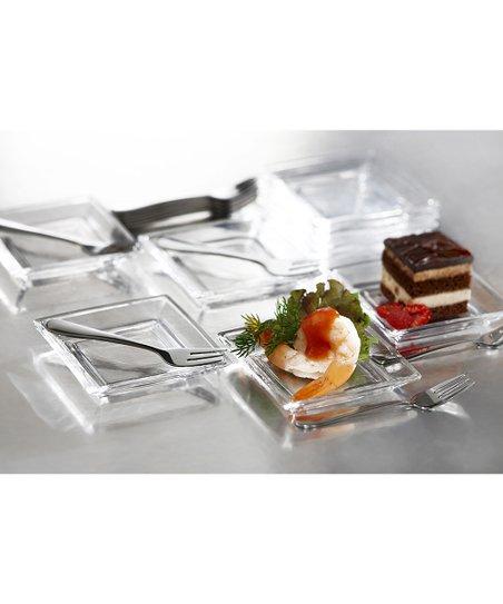 Lugano 25-Piece Taster Plate Set