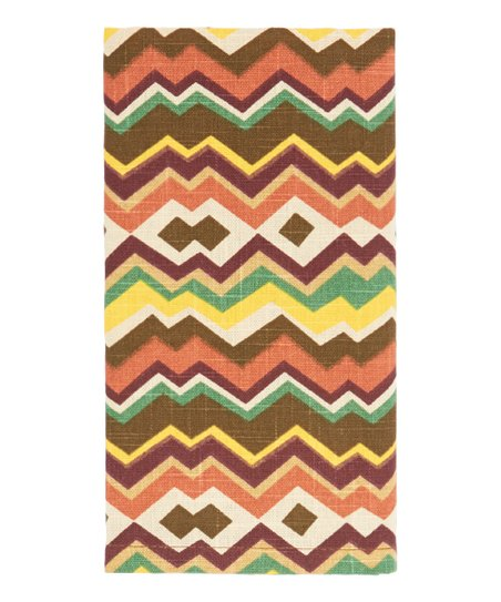 Moroccan Zigzag Napkin - Set of Four