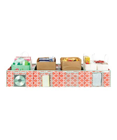 Coral Dinah Shopping Trunk Organizer
