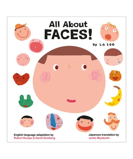 All About Faces! Board Book