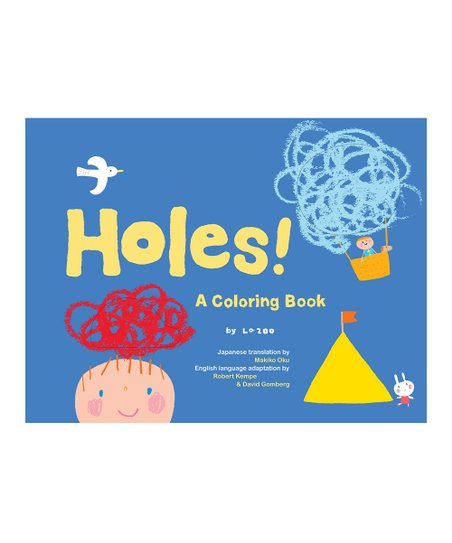 Holes! Coloring Book