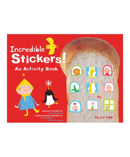 Incredible Stickers! Activity Book